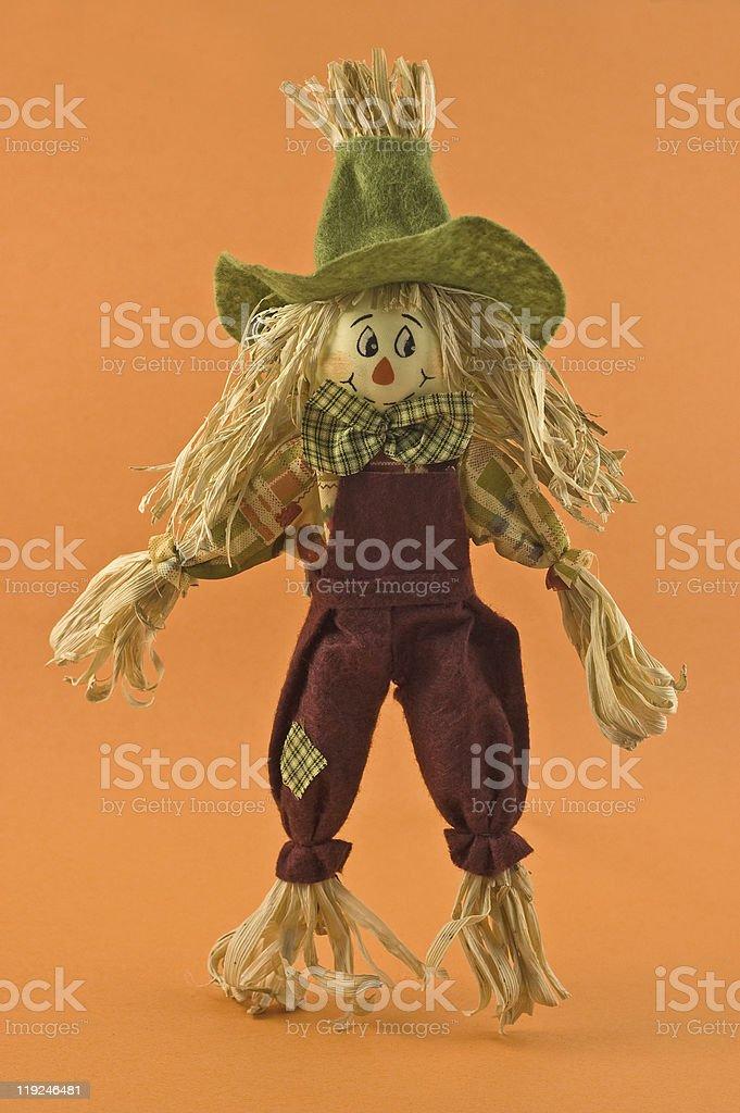 Cornhusk agricultor Espantalho boneca - foto de acervo