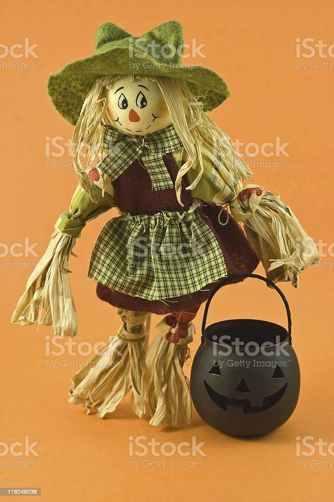 Cornhusk agricultores esposa boneca - foto de acervo