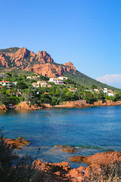 Corniche de l'Esterel, Provence, Cote d'Azur, France Corniche de l'Esterel, Provence, Cote d ' Azur, France var stock pictures, royalty-free photos & images