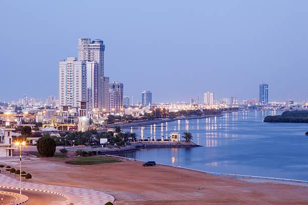 Corniche in Ras al Khaimah, VAE – Foto