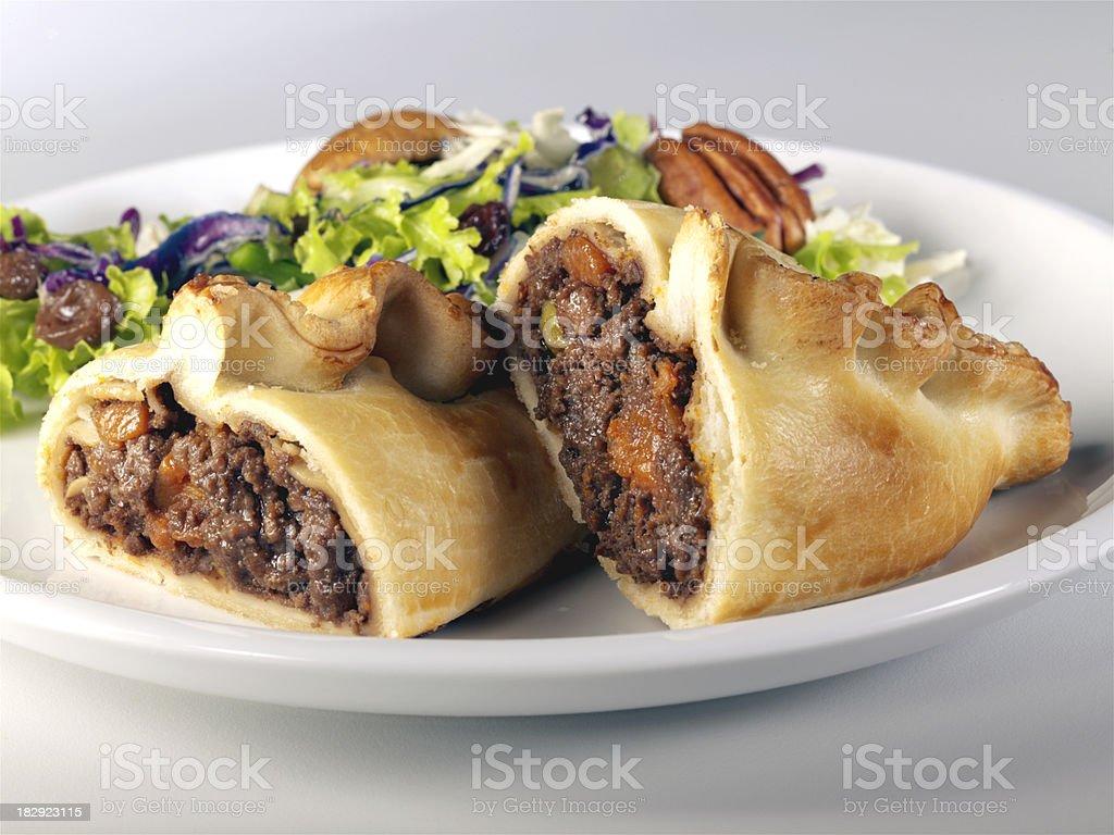 Cornish Pasty stock photo