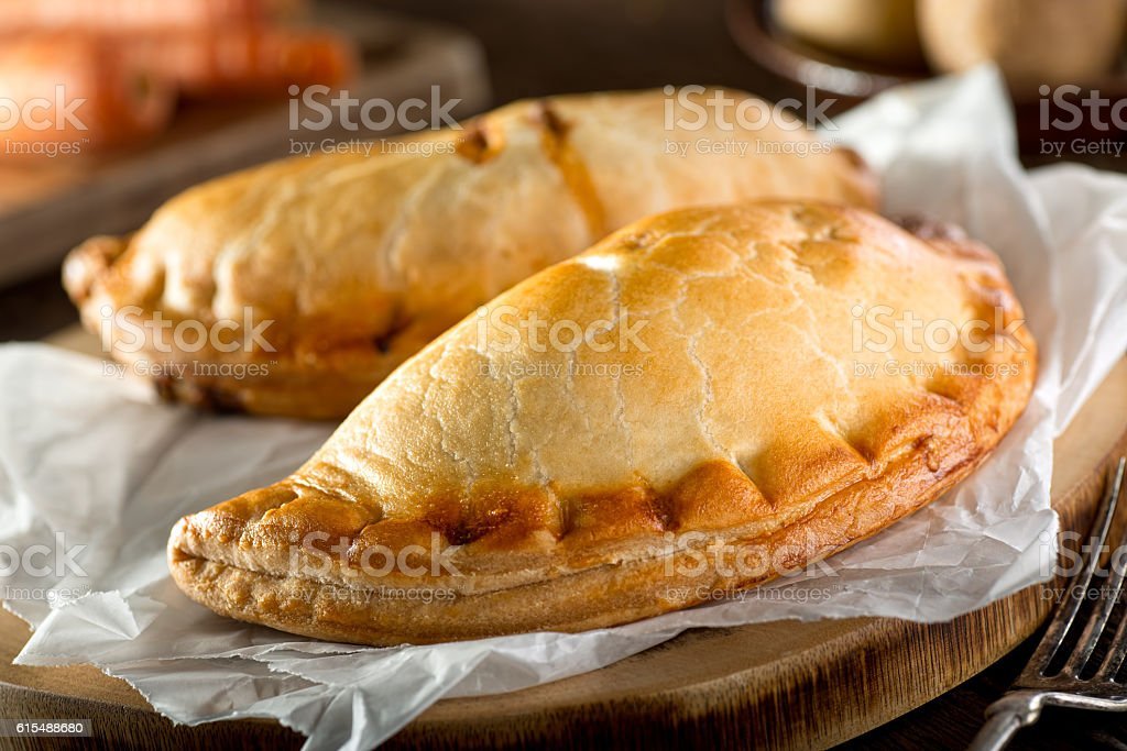 Cornish Pasty stock photo