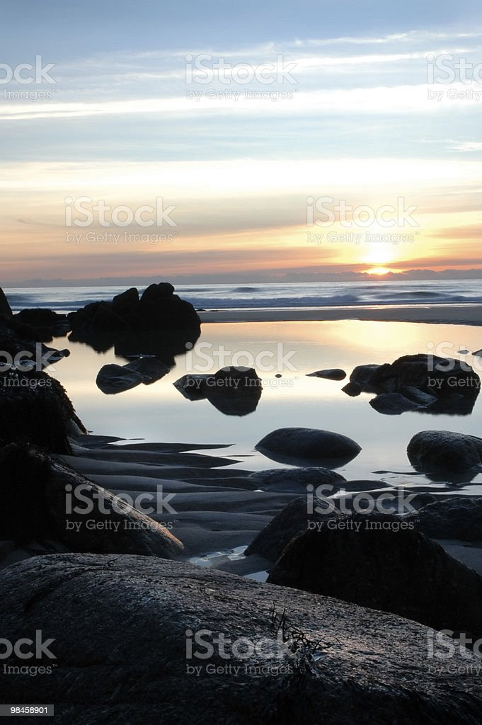 Cornwall - granite coast royalty-free stock photo