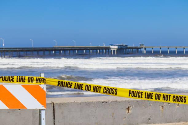 Corona Beach stock photo