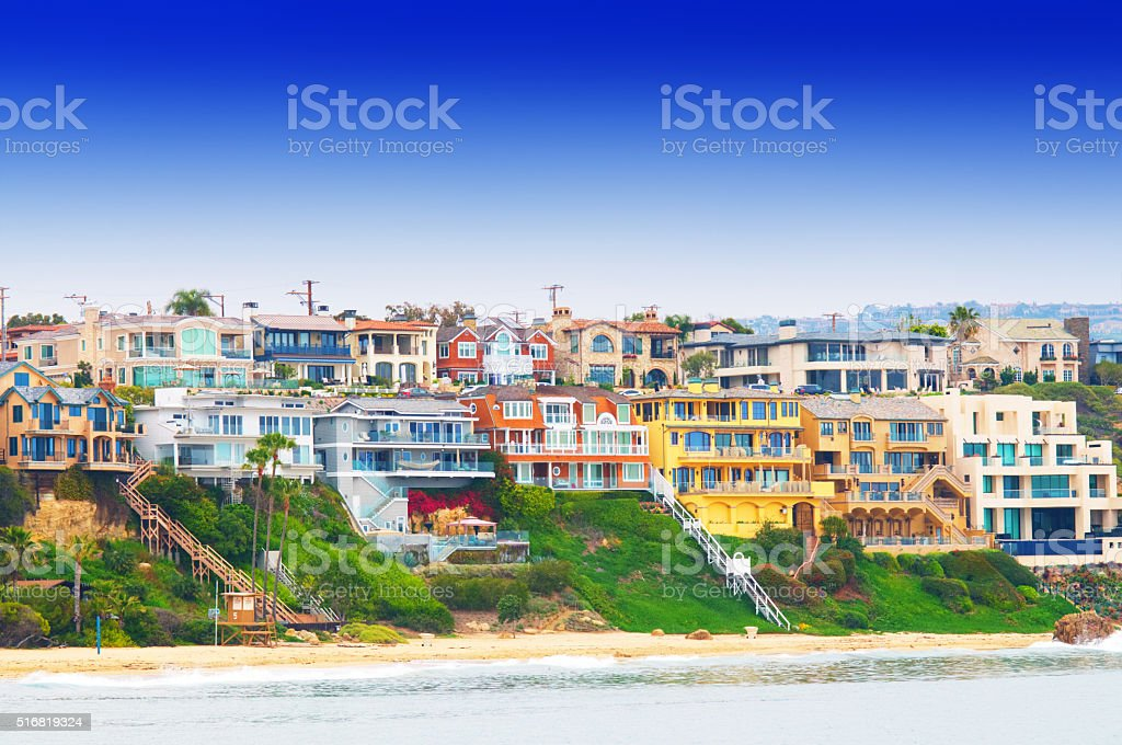 Corona Del Mar California USA stock photo