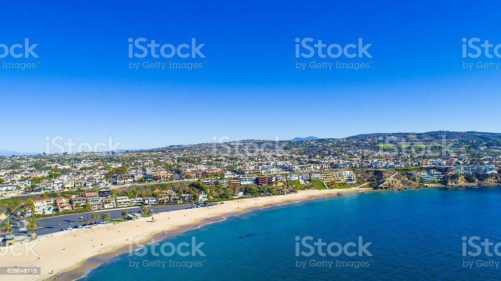 Corona Del Mar, Newport Beach, California stock photo