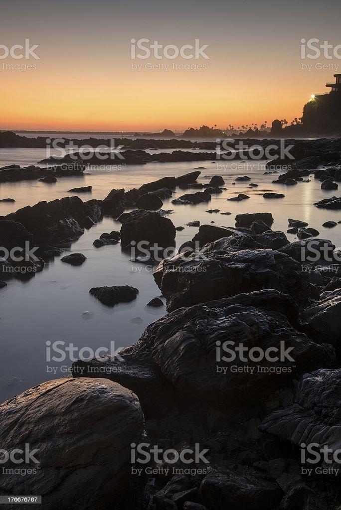 Corona Del Mar foto de stock libre de derechos
