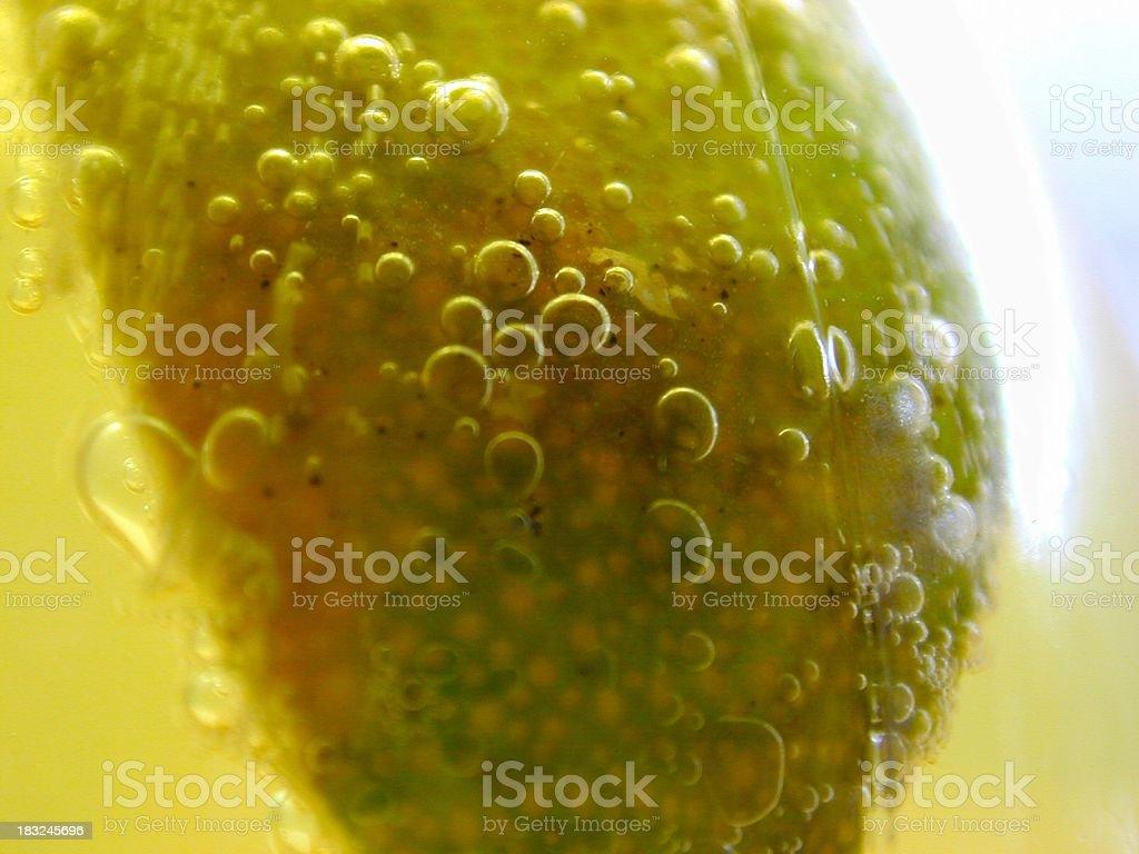Corona Lime stock photo