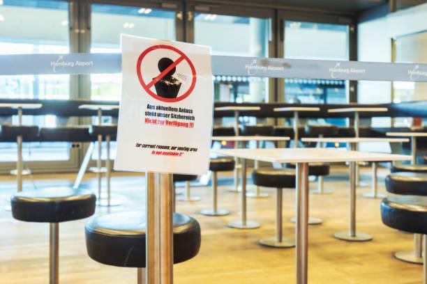 Corona pandemic impact on Hamburg airport