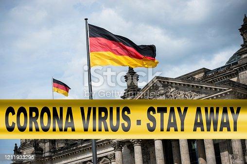 corona virus quarantine in Berlin