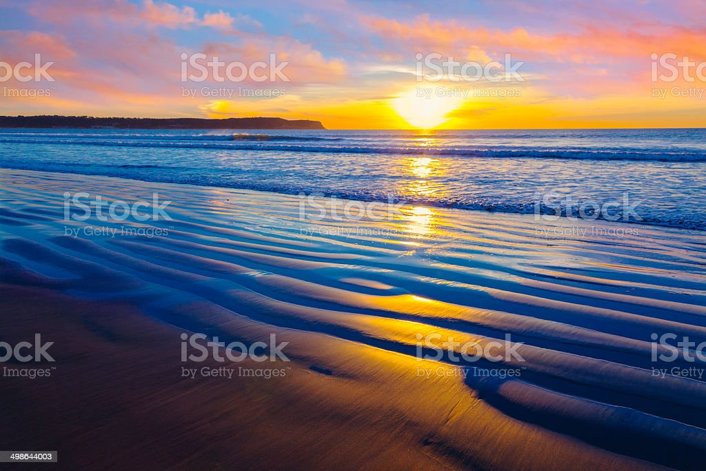 Coronado Beach, San Diego stock photo