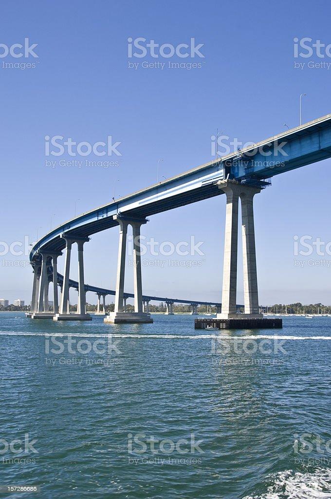Coronado Bridge stock photo