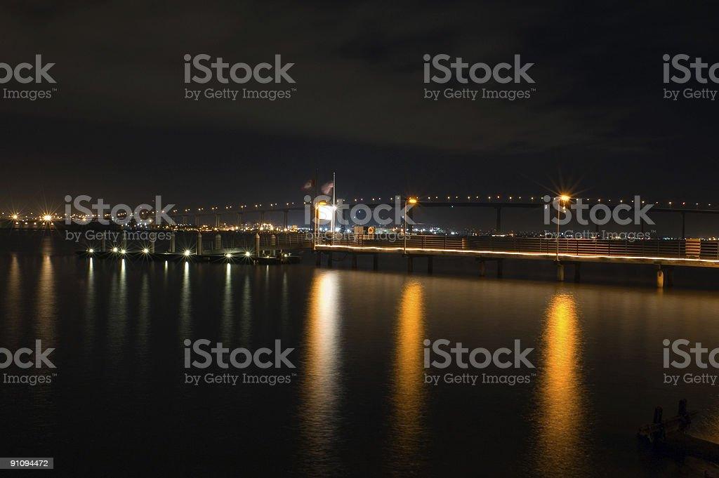 Coronado Bridge royalty-free stock photo