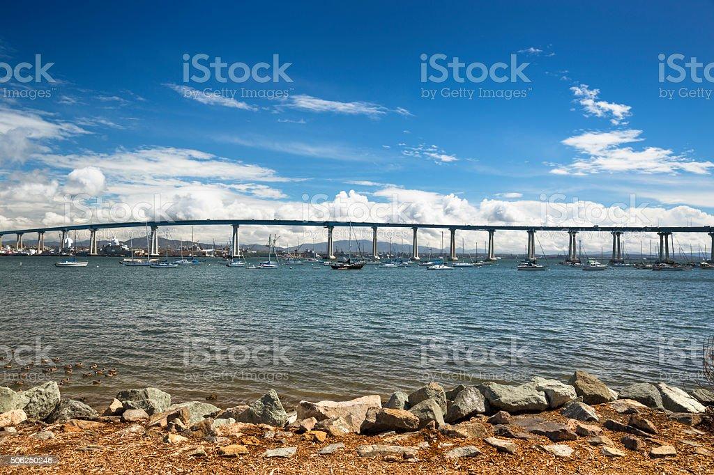 Coronado Bridge San Diego stock photo