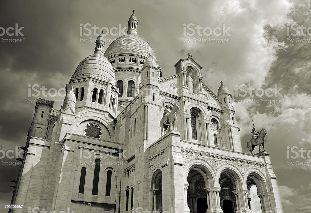 Sacre Coeur. royalty-free stock photo