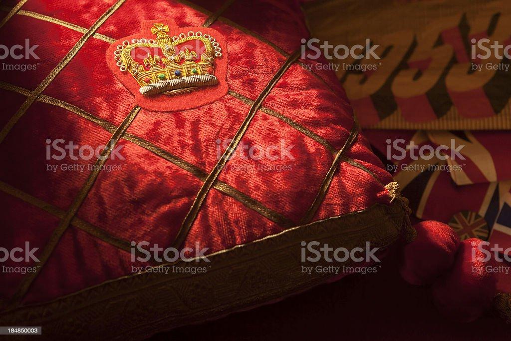 Coronation of Queen Elizabeth II 1953 royalty-free stock photo