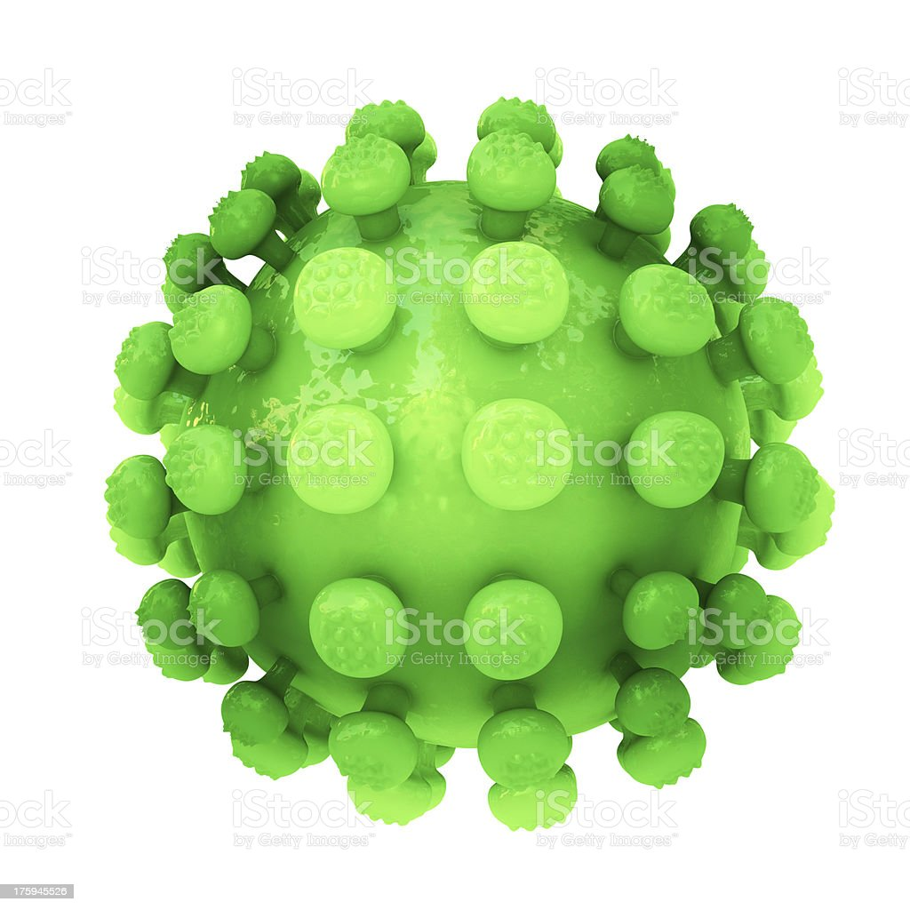 Coronavirus  - 3d rendered illustration royalty-free stock photo