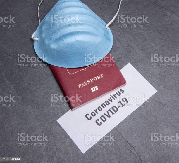 Coronavirus and travel concept note covid19 and passport picture id1211318664?b=1&k=6&m=1211318664&s=612x612&h=ybnxguclq3f59efqziovlvrpoc91jnxurhehlhmtdvw=
