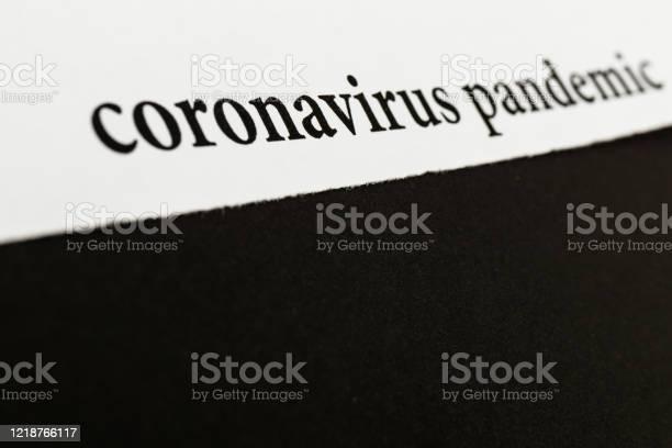 Coronavirus breaking news headline clipping from newspaper picture id1218766117?b=1&k=6&m=1218766117&s=612x612&h=4mr prnnjjkavr4i d40idkkfcyryh3zl1ofdjvggcw=