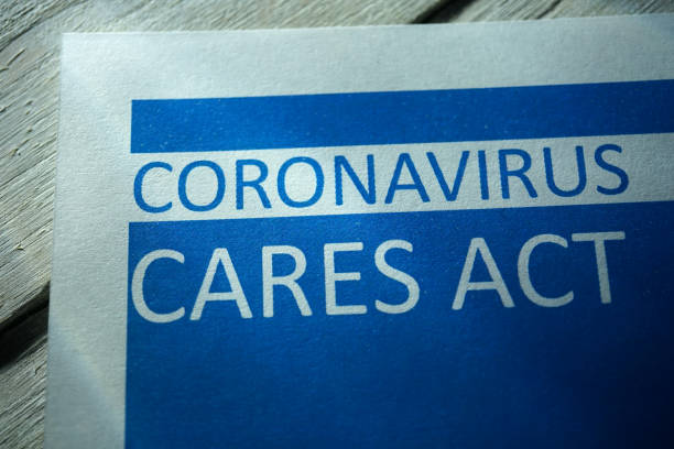 Cтоковое фото CoronaVirus care act