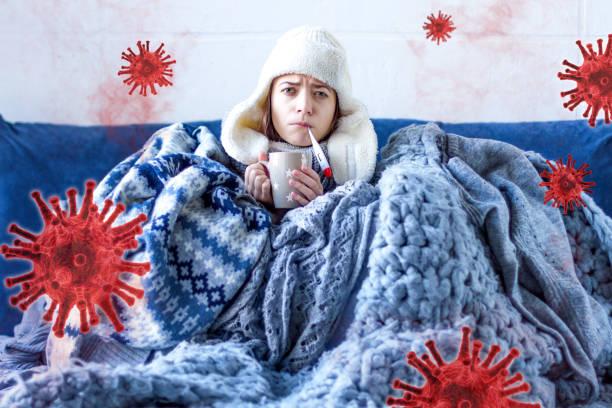 Coronavirus covid-19 pandemic concept stock photo