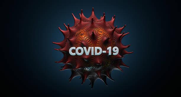 Coronavirus COVID-19 Virus Closeup stock photo