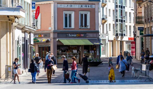 Coronavirus Crisis - France 2020 stock photo