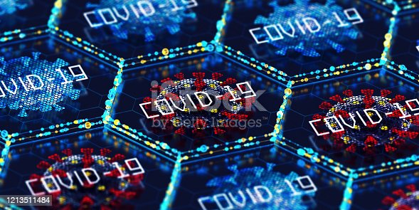 Coronavirus. COVID-19. 3D Render