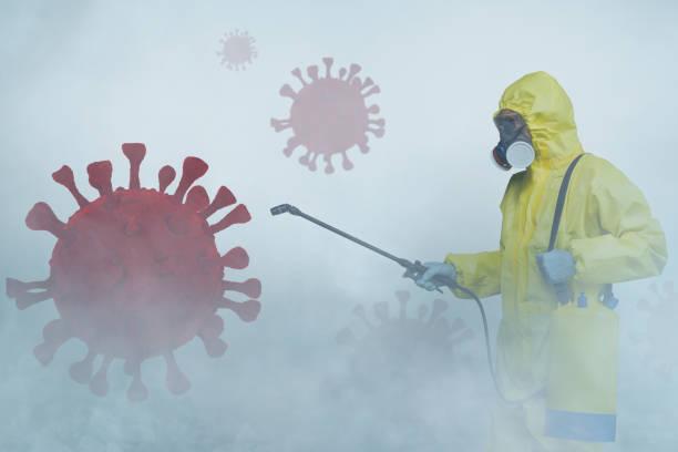Coronavirus-Desinfektion – Foto