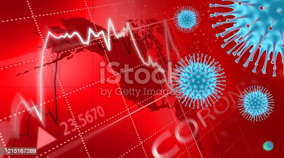 860389678 istock photo Coronavirus economic impact concept image.. 1215167269