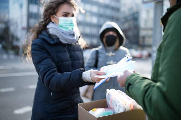 Coronavirus in der Stadt, Präventions- und Schutzkonzept. – Foto