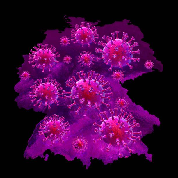 Coronavírus na Alemanha - foto de acervo