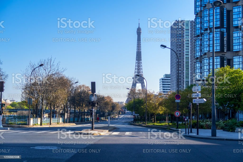 Coronavirus Lockdown In Paris Stock Photo Download Image Now Istock