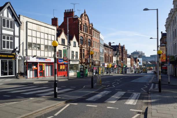 Coronavirus Lockdown Nottingham,UK. – Foto