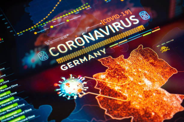 Coronavirus Outbreak in Germany stock photo
