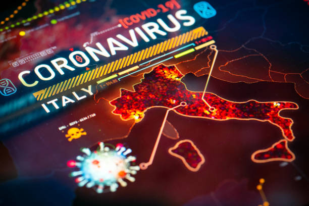 Coronavirus Outbreak in Italy stock photo