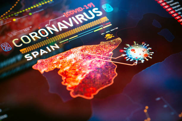 Coronavirus Outbreak in Spain stock photo