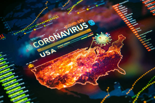 Coronavirus Outbreak in USA stock photo