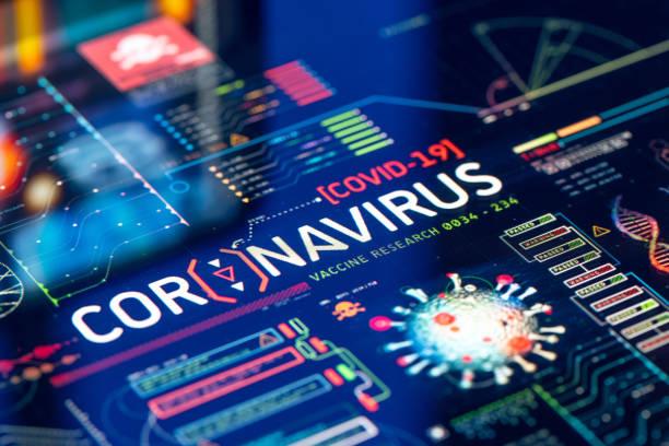 investigación del laboratorio de brotes de coronavirus - covid 19 fotografías e imágenes de stock