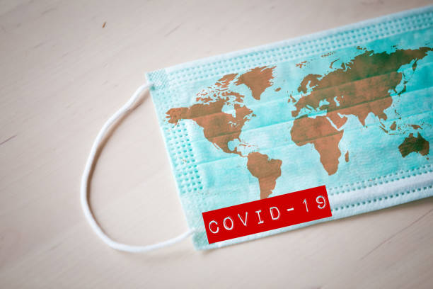 coronavirus-ausbruchvirus-quarantäne-hintergrund - pandemie stock-fotos und bilder