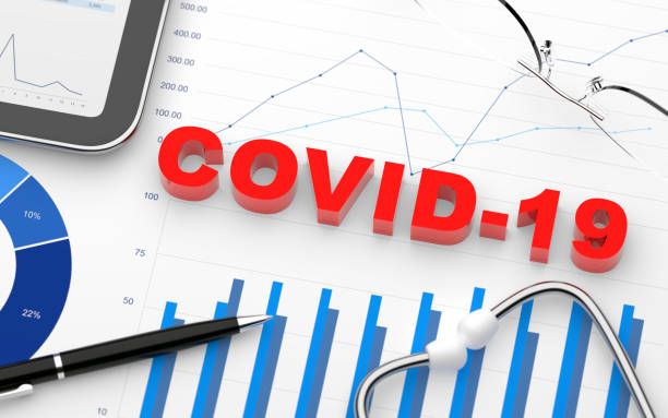 Coronavirus pandemic stock photo