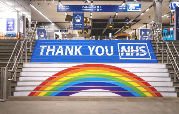 Coronavirus: Thank you NHS stock photo