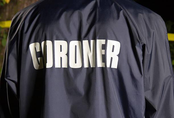 CSI: Coroner stock photo