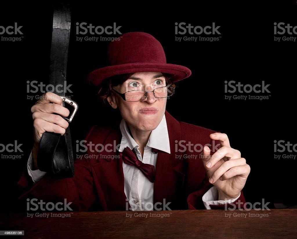 Corporal punishment stock photo