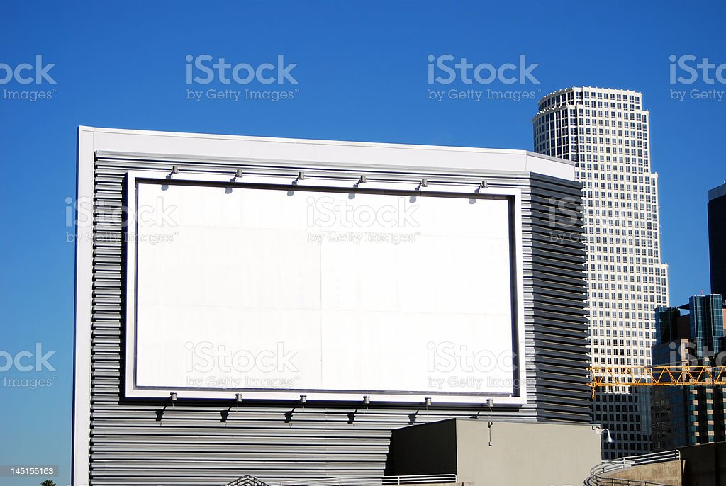 Corporate Advertising royalty-free stock photo