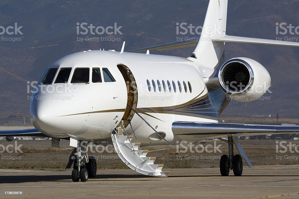 Corporate Aircraft stock photo