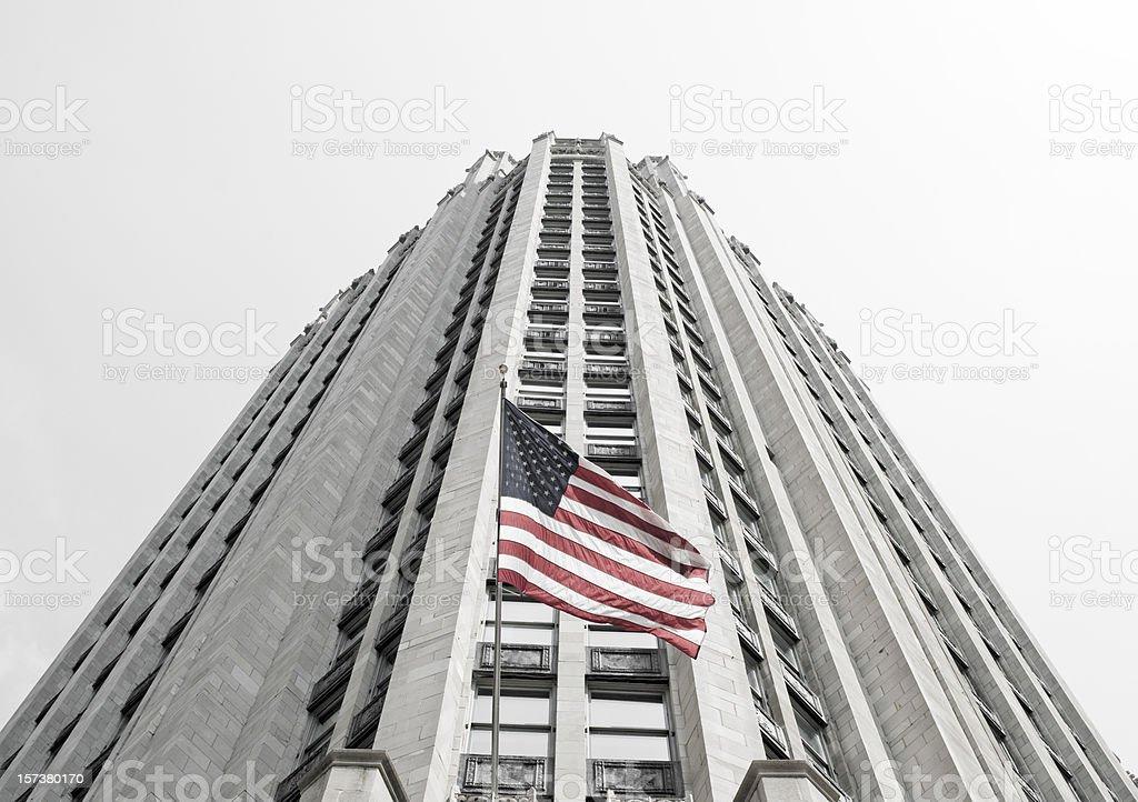 Corporate America royalty-free stock photo