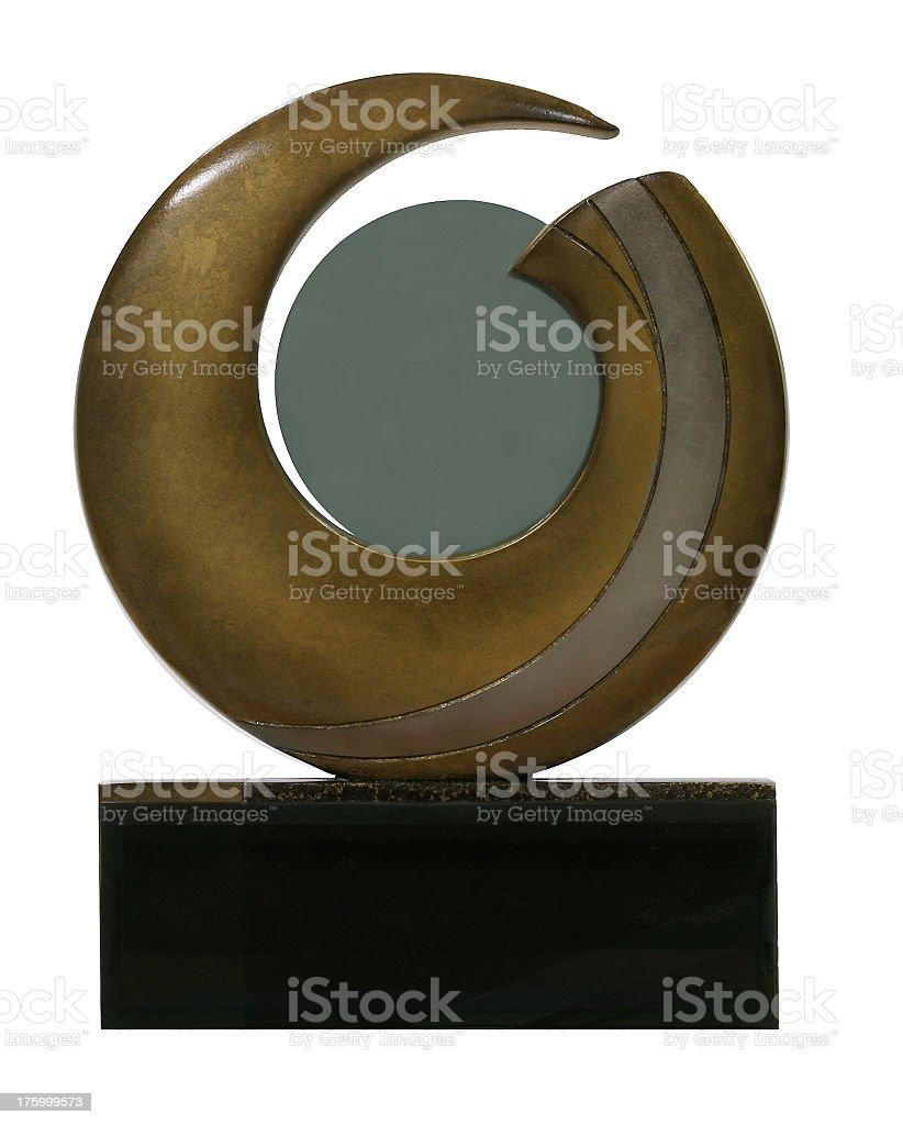 Corporate award royalty-free stock photo