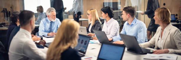 Corporate Board-meeting – Foto