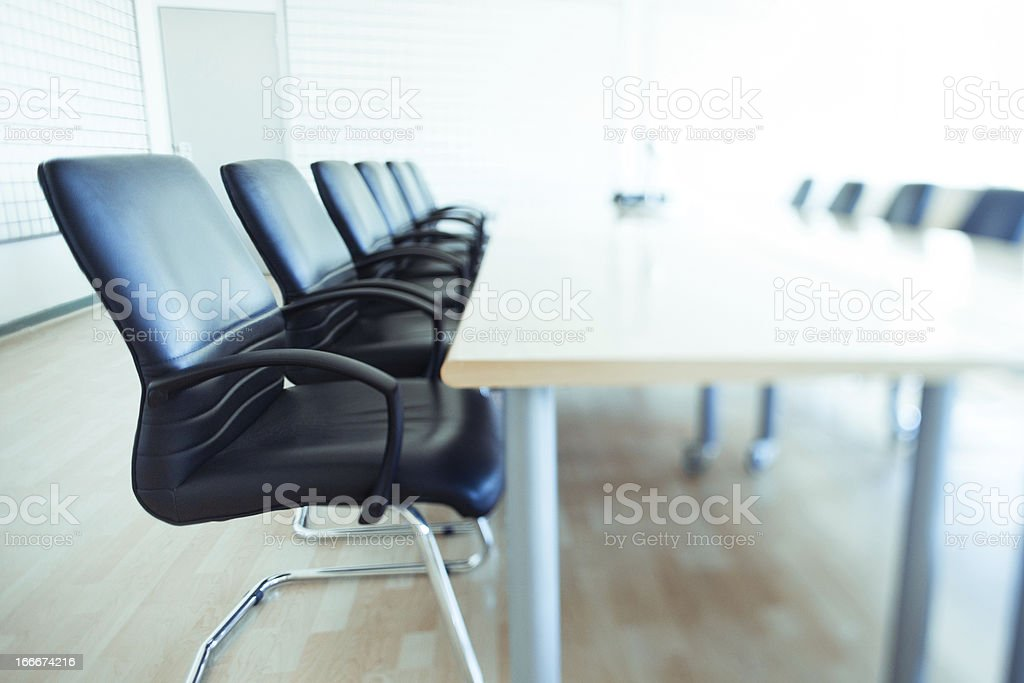 Corporate Boardroom royalty-free stock photo